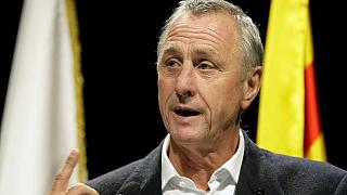 Dutch football legend Johan Cruyff dies aged 68