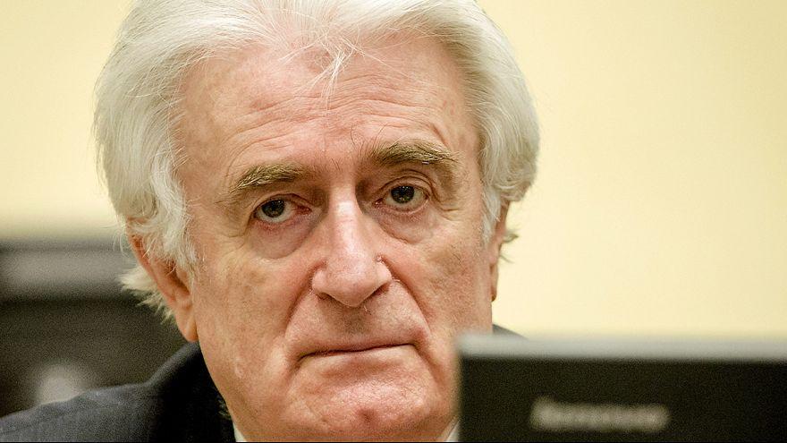 UN-Tribunal: Ex-Serbenführer Karadzic zu 40 Jahren Gefängnis verurteilt