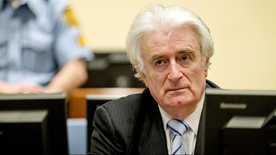 Karadzic: 40 Jahre Haft wegen Völkermords