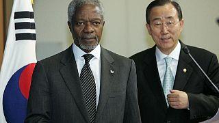 « Le moment est venu d'avoir une femme Secrétaire général de l'ONU», selon Kofi Annan