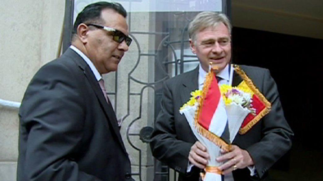 Egitto: l'ambasciatore belga riceve il sostegno di rappresentanti arabi