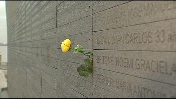 A piszkos háború áldozataira emlékezett Obama
