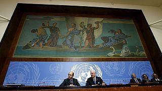 الموفد الأممي إلى سوريا يسلم وثيقة مبادئ أساسية إلى طرفي النزاع