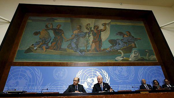 Suriye barış görüşmelerinin ilk turu tamamlandı