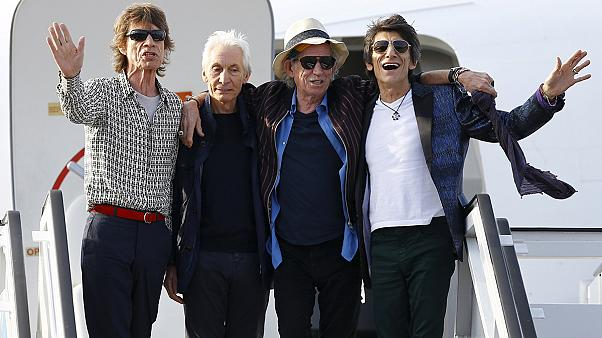 The Rolling Stones land in Havana for first Cuban concert