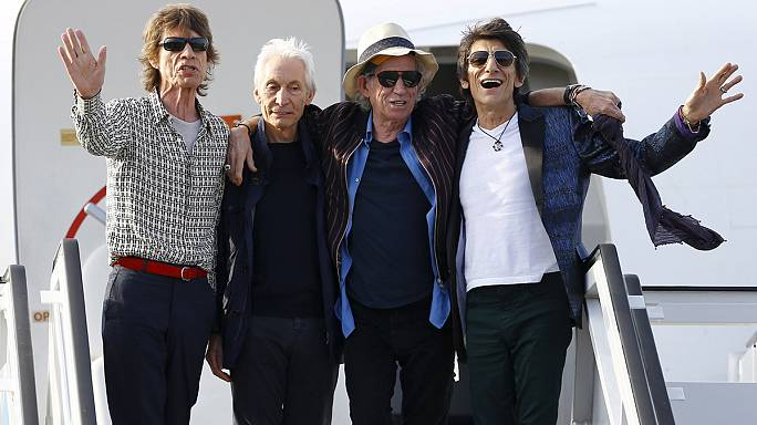 """فرقة """"ذا رولينغ إستون"""" تستعد لاحياء حفل تاريخي في كوبا"""