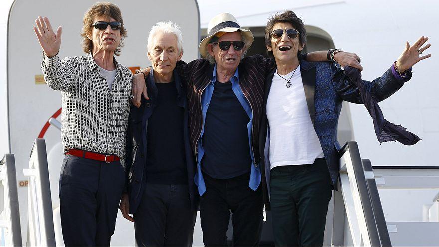 The Rolling Stones прилетели на Кубу, где сыграют бесплатный концерт