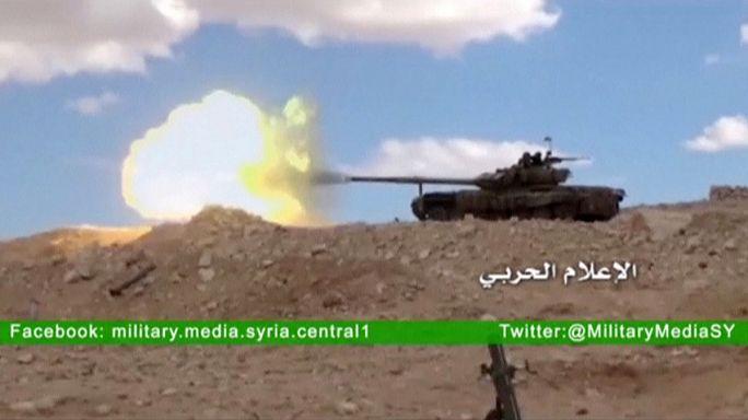 A szíriai kormányerők behatoltak Palmyrába