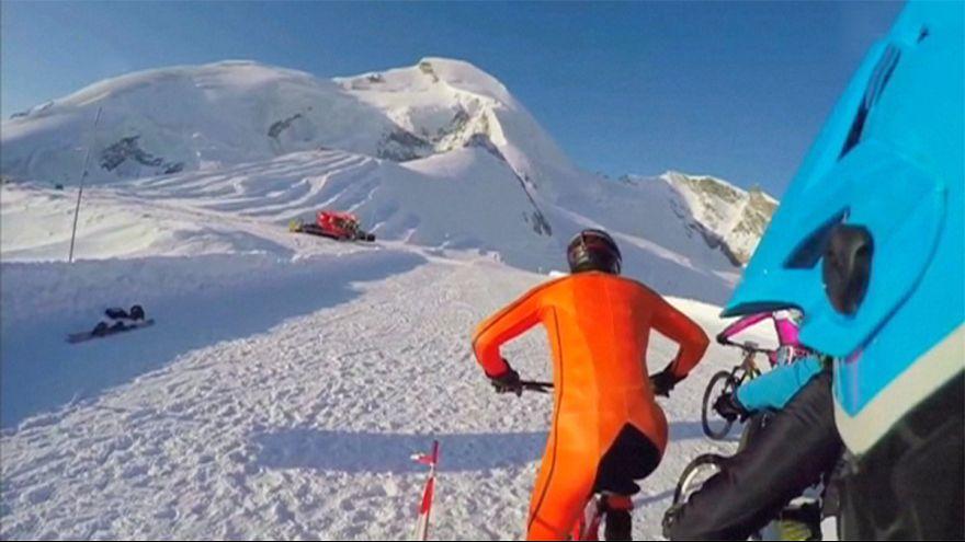 Ciclismo na neve na Suíça