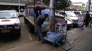 Bottled water is 'the new gold' in drought-hit Harare