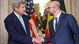 """Kerry in Brüssel: """"Wir lassen uns nicht einschüchtern"""""""