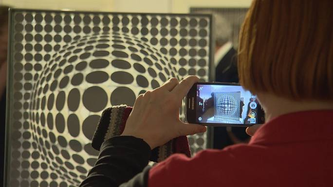 Budapest honours father of op art Victor Vasarely
