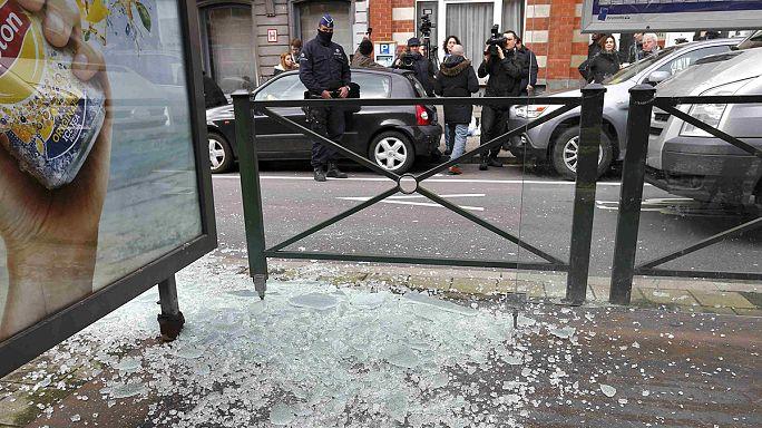 عملية دهم واسعة للشرطة البلجيكية في حي شيربك تسفر عن اعتقال اصابة شخص واعتقاله