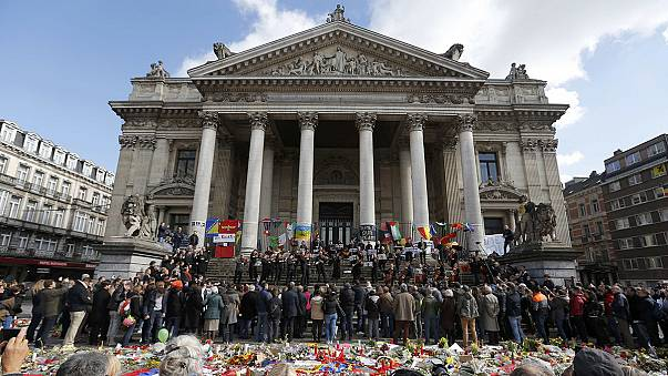 Trauer in Brüssel: Chor singt Beethovens Ode an die Freude
