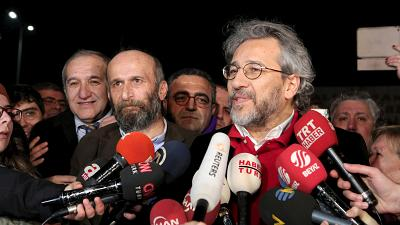 Turkish journalists on trial for espionage