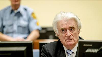 Former Bosnian Serb leader Karadzic sentenced to 40 years for genocide