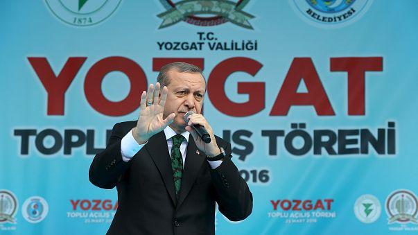 Erdoğan a belga kormányt hibáztatja
