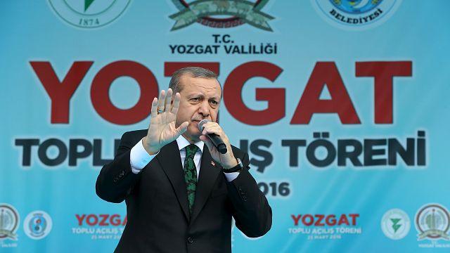 أردوغان يتهم السلطات البلجيكية بالتراخي