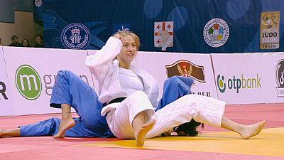 Judo, GP Tbilisi: sorrisi azzurri, Giuffrida d'oro, Basile d'argento