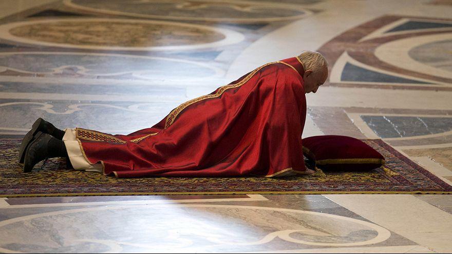 Страстная пятница в Риме: крестный ход у Колизея