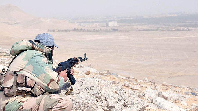 'Çölün Gelini' Palmira IŞİD örgütünden temizleniyor