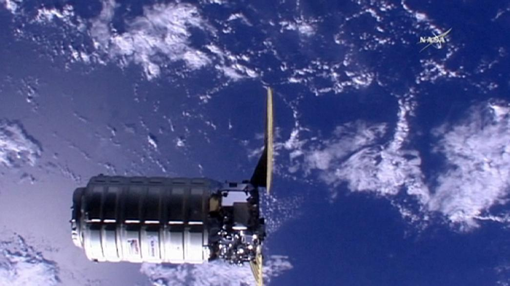 Cygnus spacecraft reaches ISS