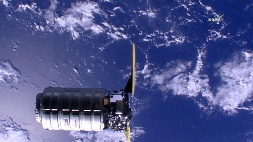 Llegan nuevos suministros a la Estación Espacial Internacional