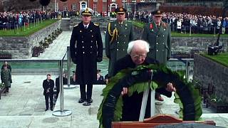 گرامیداشت صدمین سالگرد قیام ایرلندی ها در دوبلین