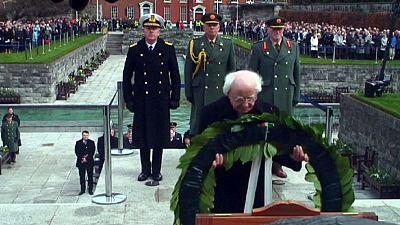 """L'Irlande commémore le centenaire de l'Insurrection de Pâques, ou """"Pâques sanglantes"""""""