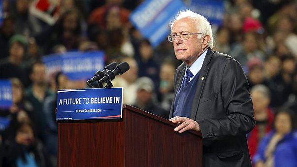 Sanders reduce su desventaja respecto a Clinton al ganar en las primarias de Alaska y Washington