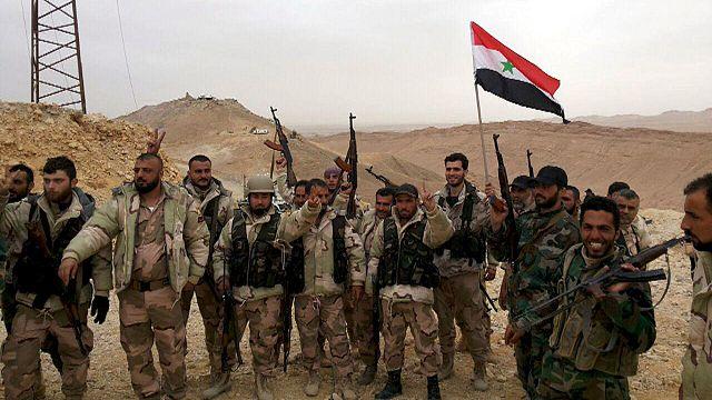Tarihi kent Palmira terör örgütü Daeş'ten geri alındı
