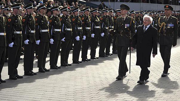 أيرلندا تحيي الذكرى المئوية الأولى لانتفاضة الفصح التي أدت إلى استقلالها