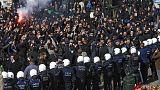تشنج در تجمع بزرگداشت قربانیان انفجارهای بروکسل