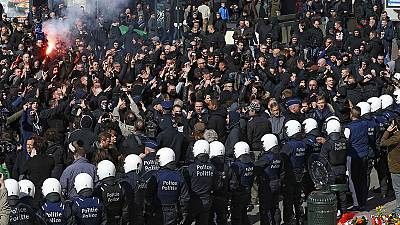 Bélgica: Confrontos em manifestação não-autorizada em Bruxelas