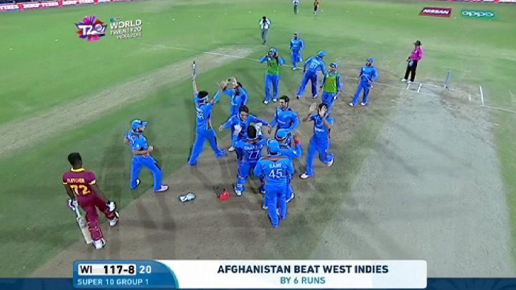 Críquete: Afeganistão vence Índias Ocidentais