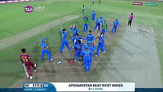 Cricket : l'Afghanistan crée la surprise