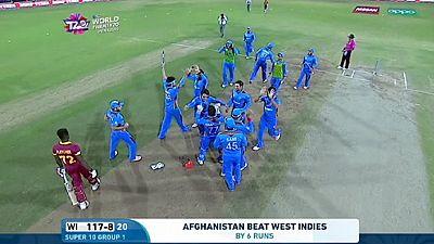 Cricket : l'Afghanistan crée la surprise