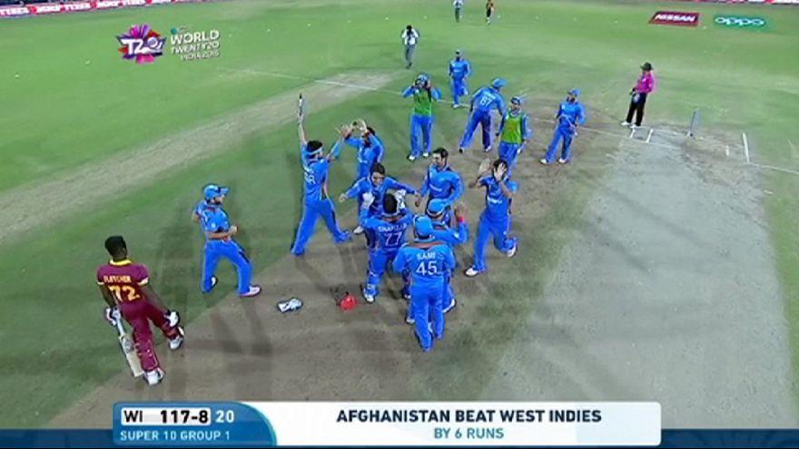 Крикет, ЧМ: Афганистан пакует чемоданы, Вест Индия идет дальше