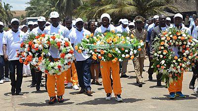 Côte d'Ivoire : les Éléphants honorent les victimes de Grand-Bassam