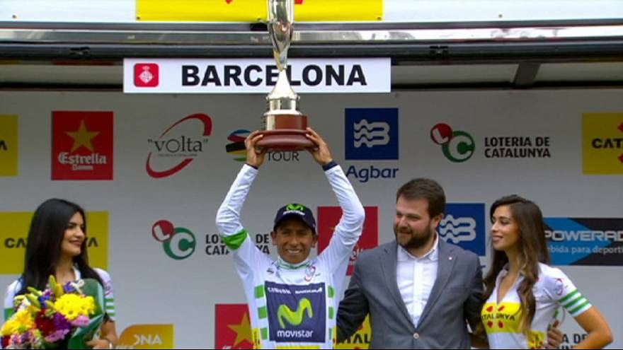 Katalonya Turu'nu Quintana kazandı.