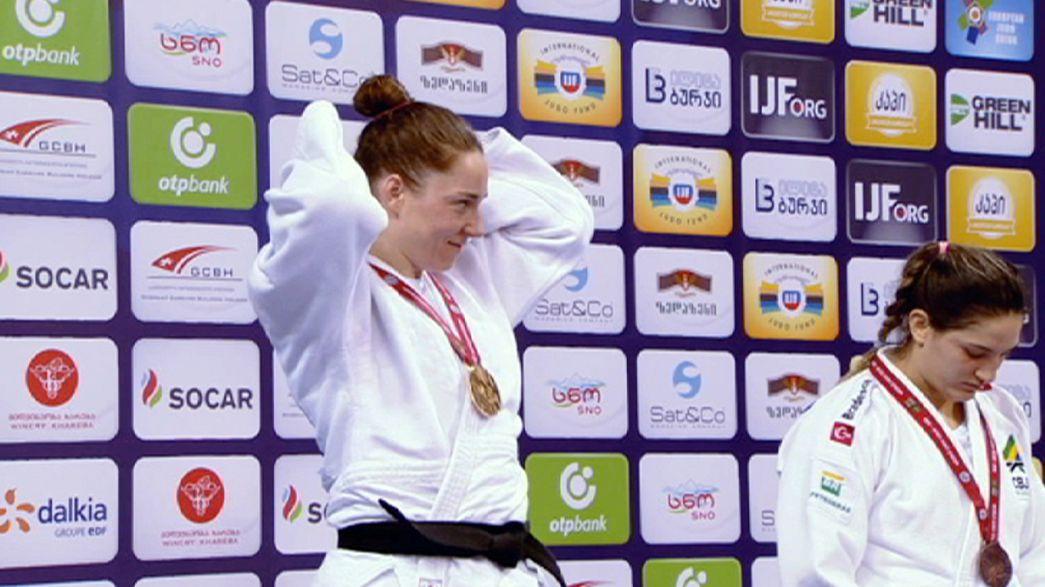 Judo: Laranja Mecânica impõe-se em Tbilisi, portugueses arrecadam dois bronzes