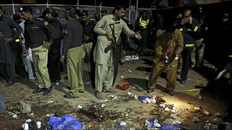 هفتاد کشته در انفجار لاهور پاکستان