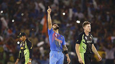 Índia nas meias-finais da Taça do Mundo de críquete Twenty20