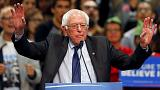 Bernie Sanders sürpriz çıkışıyla taraftarlarına ümit verdi