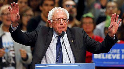 """EUA: Sanders acredita em """"novo impulso"""" depois de tripla vitória"""