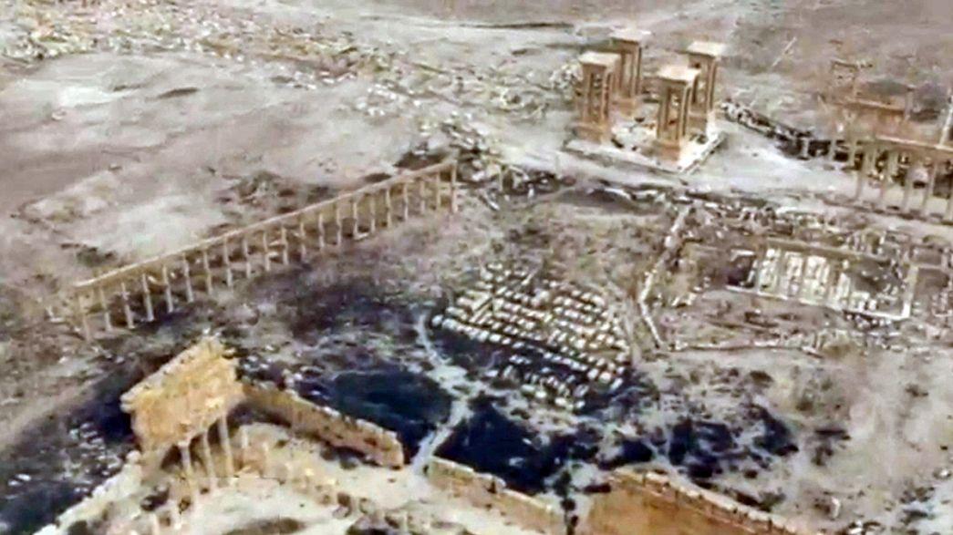 Nach Rückeroberung: Ausmaß der Zerstörung in Palmyra offenbar nicht so groß wie erwartet