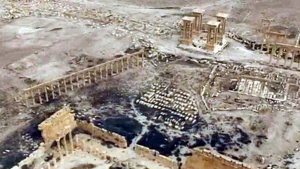 Síria: restauração da maior parte de Palmira até ao fim do ano