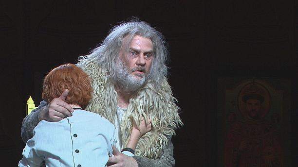 Bryn Terfel as Mussorgsky's haunted tsar