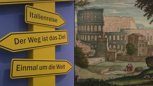"""Berlin show highlights artists' holiday pictures in """"We're off then"""""""