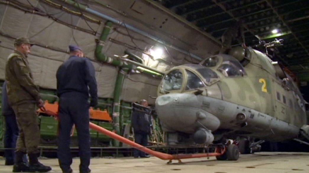 Syrien: Russland zieht Hubschrauber ab, aber Kampfeinsätze gehen weiter